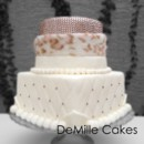 130x130 sq 1367879592211 sm rhinestone cake