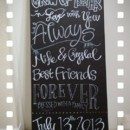 130x130 sq 1373755110293 crystal and mike chalkboard 1
