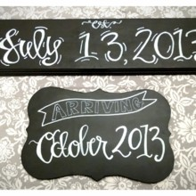 220x220 sq 1373755095769 crystal and mike chalkboard 2