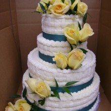 220x220 sq 1368295393634 wedding cakes 191