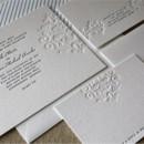 130x130 sq 1373322456751 carla harrison letterpress wedding invitation