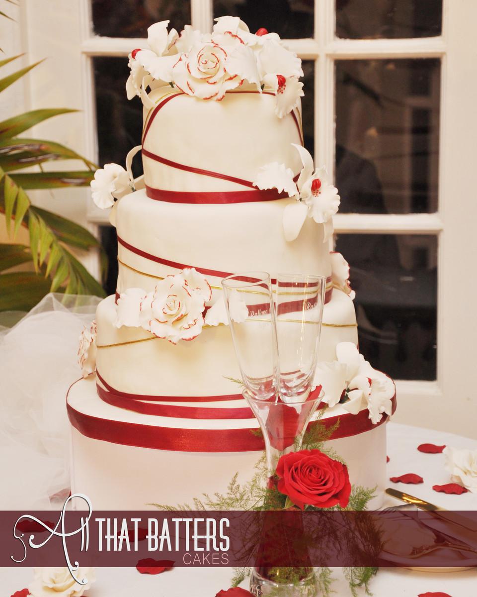 all that batters by meganne clarke wedding cake montego bay weddingwire. Black Bedroom Furniture Sets. Home Design Ideas