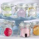 www.warmimpressions.com Personalized Glass Favor Jars (Set of 12)