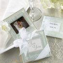 "www.warmimpressions.com ""Good Wishes"" Pearlized Photo Coasters"