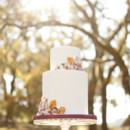 Event Planner: Jolene Sullivan  Venue: Chateau St. Jean  Floral Design: The Monkey Flower Group  Wedding Dress: Oleg Cassini  Cake: The Whole Cake  Linens: La Tavola Fine Linen  Rentals: Wine Country Party & Events  Makeup: It's a Date at the Powder Room