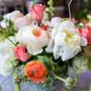 Venue: Chota Falls  Floral Designer: Henry Luther Florist  DJ: Jesse Giles  Bakery: Gigi's Cupcakes  Dress Designer: Maggie Sottero  Groom's Attire: Vera Wang