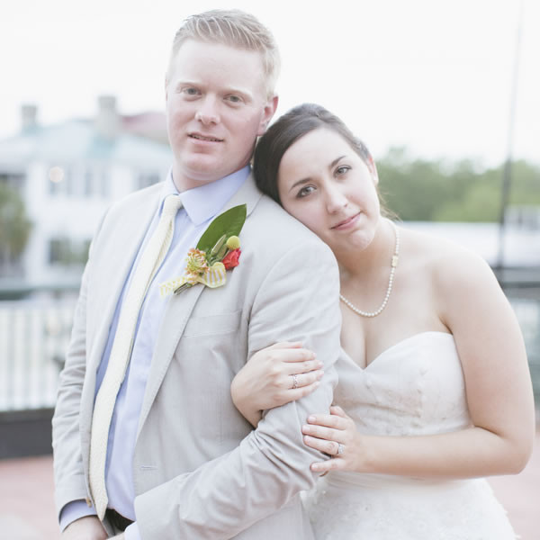 Ceremony Venue: The Tabby Garden at The Beaufort Inn  Reception Venue: Old Bay Marketplace Loft and Rooftop Deck  Floral Designer/Caterer/Coordinator/Equipment Rentals: Southern Graces  Dress Store: Gown Boutique of Charleston