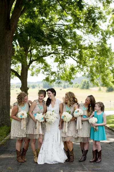 atlanta haircuts rustic teal farm wedding in real wedding photos 3691
