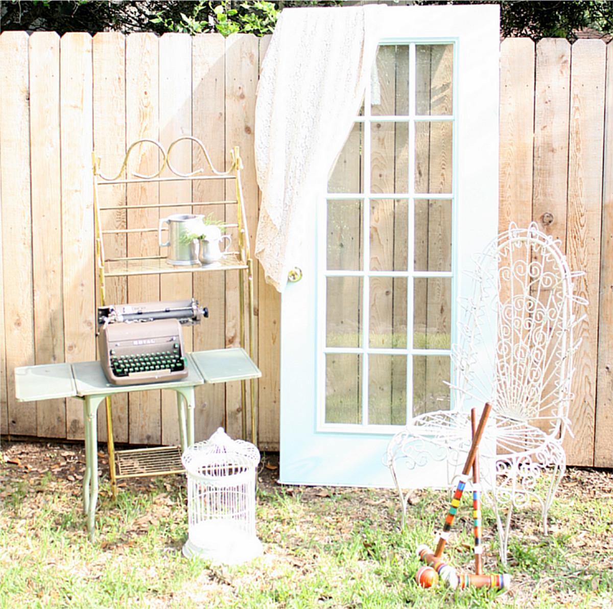 Restoration 1901 llc vintage rentals event rentals for Wedding dress rental austin tx