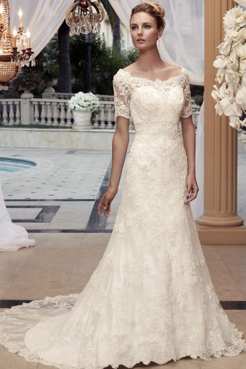 3/4 Sleeve Wedding Dress Photos, 3/4 Sleeve Wedding Dress Pictures ...