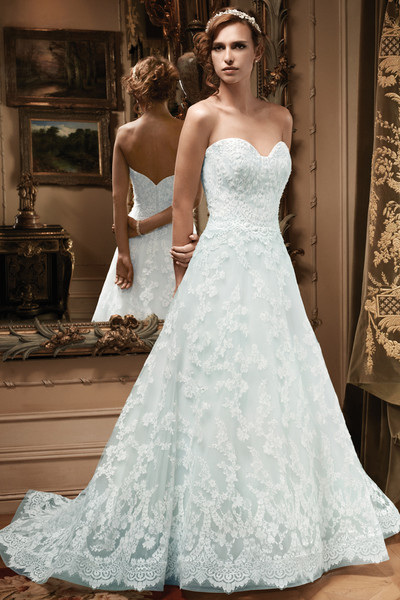 Casablanca bridal wedding dresses photos by casablanca for Princess style wedding dresses sweetheart neckline