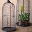 130x130 sq 1371256884172 chicken wire birdcage dome