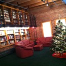 130x130 sq 1481901312341 library with christmas tree