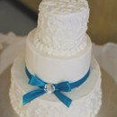 130x130 sq 1372540896853 danielandjennyweddingcakepic