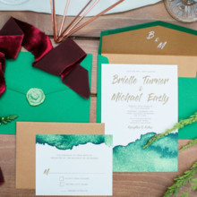 220x220 sq 1515014760502 coppergreenwatercolorinvite