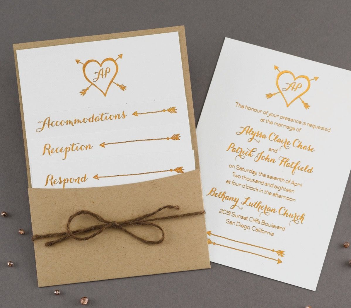 Cincinnati Wedding Invitations - Reviews for 44 Invitations