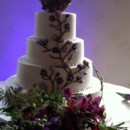 130x130 sq 1373576466762 purple vine cake