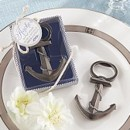 Anchor Nautical theme wedding bottle opener favor gift boxed