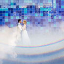 130x130 sq 1465485492 0c3e6c200969162a austin blue wall wedding photo 2