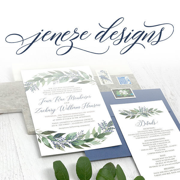 Jeneze Designs Invitations Spanish Fork Ut Weddingwire