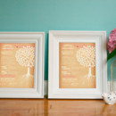 Bring your mamas to tears with these personalized, sentimental wedding-day gifts. You will receive a set of two unique 8