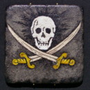 This Jolly Roger design from Missy's Painted Reef could be used as a fun favor idea for a destination, yacht or cruise wedding. They could also be fitting gifts for ring bearers or groomsmen. They can be fitted with detachable or permanent hangers, or felted to be used as coasters.