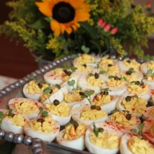 220x220 sq 1508882266043 deviled eggs