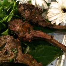220x220 sq 1508882362837 lamb chop lollipops