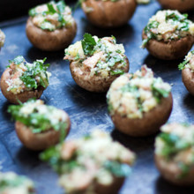 220x220 sq 1508882607148 stuffed mushrooms