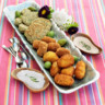 96x96 sq 1508882513117 quinoa fritters potatoe croquettas  fried olives