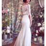 96x96 sq 1375815601269 chantilly lace off shoulder trumpet deco mermaid  bridal gown b
