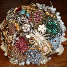220x220 sq 1427773108348 family brooch bouquet
