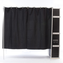 220x220 sq 1396369624908 booth side closed curtain
