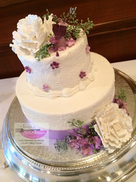 sweets by ladawn cincinnati oh wedding cake