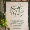 Wedding Invitation designed by the bride!