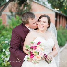 220x220 sq 1475855300904 aggie wedding at bradys bloomin barn0112 63