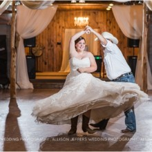 220x220 sq 1475855316625 aggie wedding at bradys bloomin barn0112 100