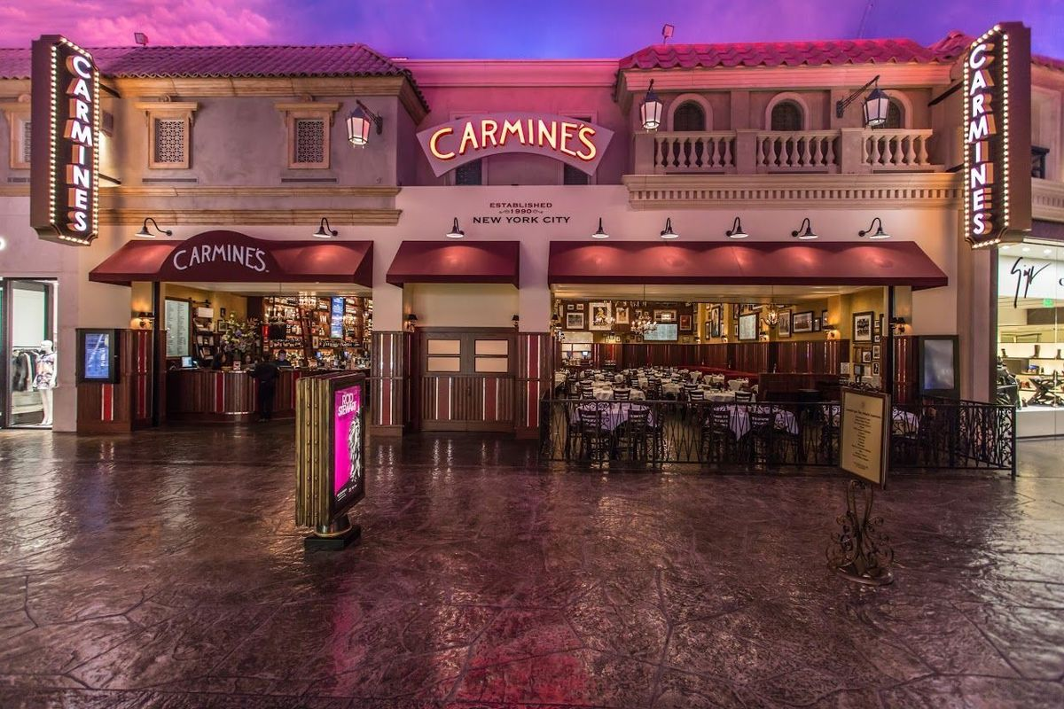 Carmine S Nyc Venue Las Vegas Nv Weddingwire