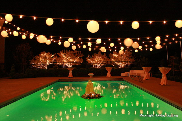 Moon Light Holiday Lighting - Orem, UT Wedding Eventproduction