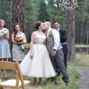 Wedding Ceremony at the Pond at Lake Creek Lodge in Camp Sherman, Metolius River area, Central Oregon. http://www.lakecreeklodge.com/receptions.php