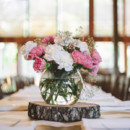 Venue: The Garden Room  Floral Designer: Bud to Branch  Invitations: Wedding Paper Divas  Dress Designer: J.Crew  Groom's Attire: Nordstrom  Shoes: Seychelles  Rings: HPerrys Jewelers  Hair Stylist: Studio 8  Makeup Artist: Luxe  Cake: Shelby Lynn's Cake Shoppe