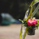 Venue: Runnymede Sculpture Farm  Event Planner: ZahZoom Weddings & Parties  Caterer: Renni Lyn Burge Catering  Floral Designer: Chestnut & Vine Floral Design  Dress Designer: Jin Wang  Band: Sugadady  Makeup Artist: Fabulous Faces