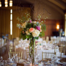 Reception Venue and Caterer: The Michigan League at University of Michigan        Equipment Rentals: Chiavari Chair Rental  Floral Designer: Magnolia, A Fresh Flower Market, Inc.