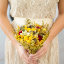 Venue: The Grotto at the Arizona Center  Event Planner: Definitly Bridal  Floral Designer: Family Dried Flowers  Caterer: Fresh from the Kitchen  Hair Stylist: Youngblood Haircutters  Paper Goods: Tipsy Graphics