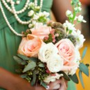 Venue: Altadena Valley Presbyterian Church  Event Planner: Alene Gamel of I Do I Do Weddings  Floral Designer: Carol Riley of Lillie's  Caterer: Kathy G. & Co.  Cake: Julie Hendricks of Sweet Magnolia  DJ: Feel the Beat Entertainment