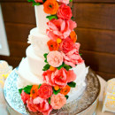 Cake Designer: Market Salamander  Reception Venue: Historic Rosemont Manor