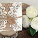 130x130 sq 1522819294 f24910c417ca698b 1447113807318 janice paper lace with kraft paper and tag