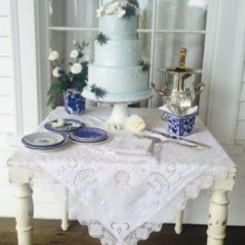 220x220 sq 1466073604259 cake table