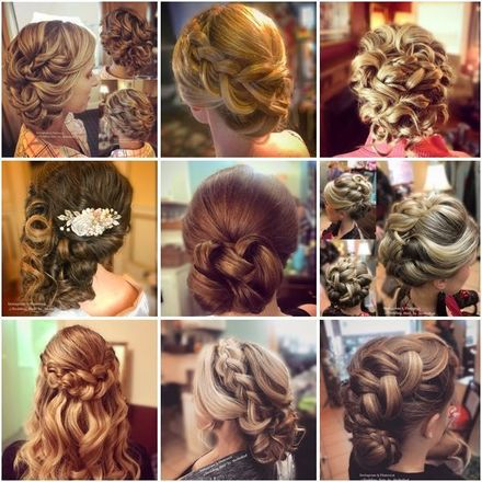 Wedding Hair by Mollie Monthie Radden