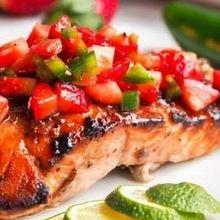 220x220 sq 1506721882 1b18a97937f14c38 1506721607456 strawberry jalapeno salmon a